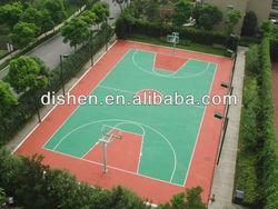 Silicon PU Basketball Flooring