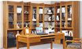 hot vendas de madeira maciça estante de canto moderno design combinação de canto de madeira estante móveis