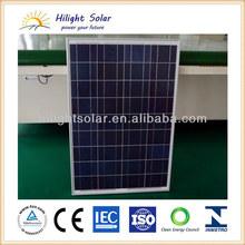 High quality 12V 100w solar panel