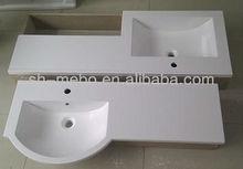 Artificial polymarble stone basin