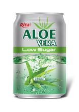330 ml Aluminum natural aloe vera Low sugar