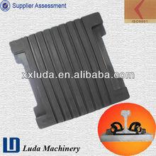 vulcanized rubber sheet for rail fastener