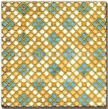 golden glazed tile