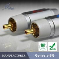 MPS Genesis 8GMK2 /audio RCA Connector RCA Plug