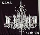 Iron Art Decorative beautiful crystal chandelier 9678/8P