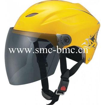 Sun-Shield Summer Motorcycle Helmet
