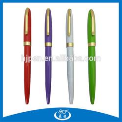 Cheap Promotional Slim Metal Ball Pen Hotel Pen