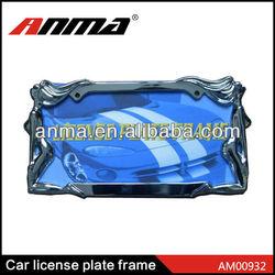 aluminum car License Plate Frame
