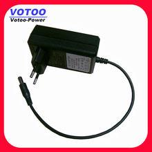 EU plug ac dc 12vdc power adapter