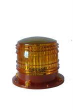 waterproof solar LED strobe warning light flashing marine lantern solar cage LED light