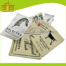 Fashion printing label/printed clothing label/label printing in Guangzhou