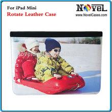 Fashionable Rotate Leather Case for iPad mini