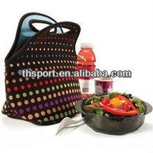 Dongguan supplier 3mm wholesales women neoprene picnic bag