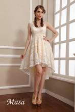 2014 Illusion v-neck A-line magnificent princess wedding bridesmaid dress patterns lace elegant bridesmaid dress 2015