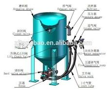portable abrasive blasting equipments for large workpiece sandblasting