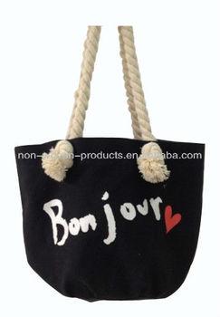 cotton soft handle shopping bag
