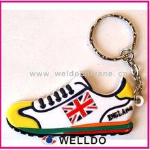 custom mini running shoe key chain