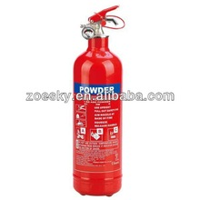 EN3 2KG Portable dry chemical powder fire extinguisher