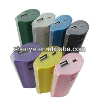 High Quality 5200 mah With 4 LED Flashlight Portable Power Bank