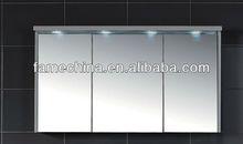 2013 New Sale FSC MDF High Glossy Bathroom Mirror With Light