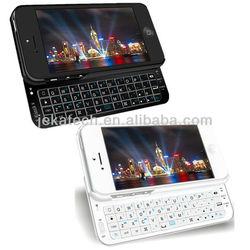 for iphone 5 slide open wireless bluetooth keyboard