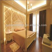 fireproof wall covering fiberglass board decorative melamine board/decorative acoustic panel wall