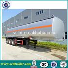 2015 HOT! 45000L steel fuel tank truck trailer storage tanks for sale UAE