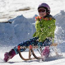 Small Tracker Wooden Sled,kids snow board,kids wooden snow ski sled