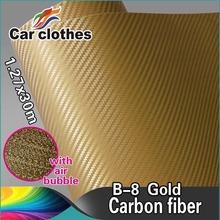 Car Wrap Vinyl Sticker Roll 3D Carbon Folie