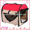 Portable Dog House Folding Pet Tent Red Dome New Soft Pet Dog House
