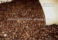 Ethiopian Coffee Arabica roasted beans
