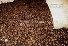 Ethiopian Coffee Arabica roasted beans