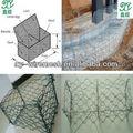 Quente- aço galvanizado mergulhado hexagonal fio de malha cesta