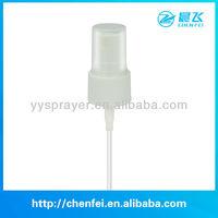plastic fine mist sprayer head pump