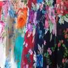 silk chiffon floral printed fabric