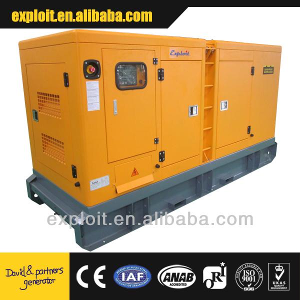 Reliable silent design cummins power generator