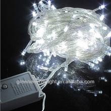 10 m árvore de natal decorada branco, Ao ar livre de natal seqüência de luz, Luzes de natal ao ar livre 110 v CE & RoHS certificados