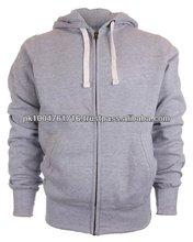 Men's Zip Hoodie - Gray