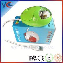 new style mini optical liquid computer mouse of egg shape