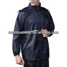 2015 Waterproof Breathable Outdoor Adults Rain Coat