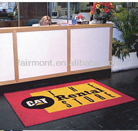 Fur Floor Mats, Logo Mat,