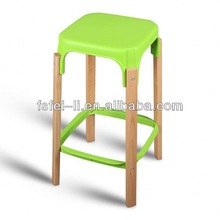 Modern outdoor aluminium bar stools for restaurant