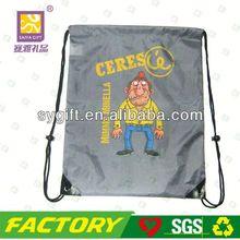 New style handmade drawstring laundry bag