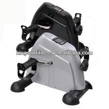 Mini Pedal Exerciser LCD Display Fitness Bike Leg/Arm Adjustable Resistance Gym, Mini cycle