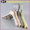 SU06 electroplated plastic hanger shine Jacket hangers