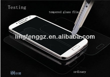 2014 new material tempered glass protective film for samsung galaxy s4 i9500