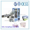 Fácil operación automática completa del tejido facial/servilleta de papel caja de cartón sellado/máquina de embalaje con buena después de- servicio