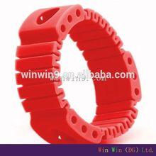 Korean fashion thin silicone bracelet/wristband/hand band
