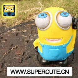 Hot New Product For 2014 China Wholesale PVC Happy Minion New Kid Toys