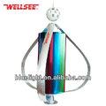 Wellsee maglev viento vertical del eje de la turbina del generador para la venta! Ws-wt300w 12 cuchillas de levitación magnética